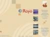 diseño gráfico catálogo tejidos royo