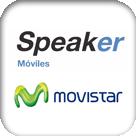 32 LOGO SPEAKER MOVISTAR