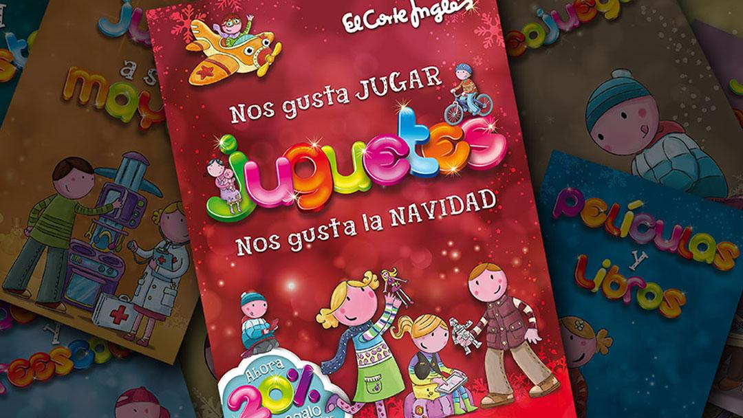 Catálogo de Juguetes para el Corte Ingles 2013